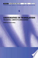 Traces 5  Universities in Translation