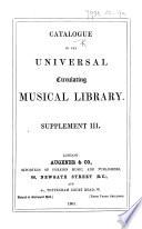 Supplement III.