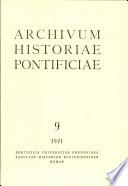 Archivum Historiae Pontificiae