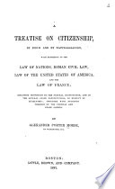 A Treatise on Citizenship