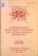 Comprehensive river basin planning