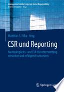 CSR und Reporting