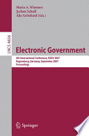 Electronic Goverment