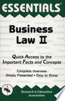 Business Law II Essentials Free download PDF and Read online
