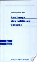 Les temps des politiques sociales