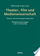 Theater, Kunst, Wissenschaft