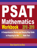 PSAT Mathematics Workbook 2018 - 2019