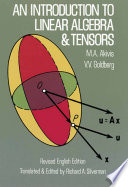 An Introduction to Linear Algebra and Tensors