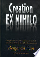 Creation Ex Nihilo