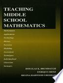 Teaching Middle School Mathematics