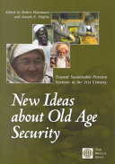 New Ideas About Old Age Security