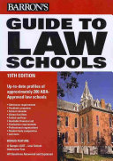 Barron s guide to law schools 2010