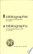 Bibliography of the International Court of Justice