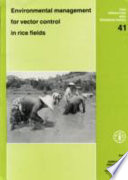 Environmental Management For Vector Control In Rice Fields