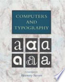 Computers and Typography