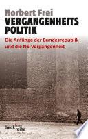 Vergangenheitspolitik