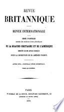 Revue britannique, publ. par mm. Saulnier fils et P. Dondey-Dupré