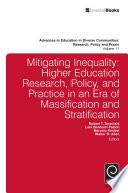 Mitigating Inequality