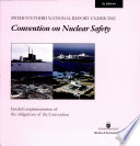 Ds 2004:044 Sweden ́s third national report under the Convention on Nuclear Safety