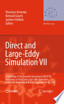 Direct and Large Eddy Simulation VII