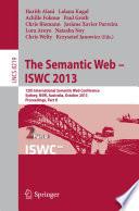 The Semantic Web   ISWC 2013