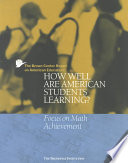 The Brown Center Report on American Education