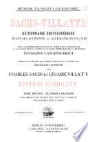 Sachs Villatte encyklop  disches franz  sisch deutsches und deutsch franz  sisches W  rterbuch  Deutsch franz