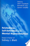 Relatedness  Self definition  and Mental Representation