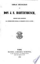 Obras Escogidas De Don J E Hartzenbusch
