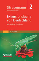 Stresemann   Exkursionsfauna von Deutschland  Band 2  Wirbellose  Insekten
