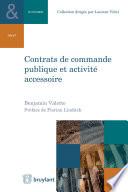 Contrats De Commande Publique Et Activit Accessoire