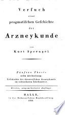 Geschichte der theoretischen Arzneykunde im achtzehnten Jahrhundert