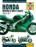 Honda Vfr750 700 V Fours 1986 Thru 1997