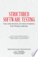 STRUCTURED SOFTWARE TESTING