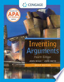 Inventing Arguments Brief Edition  2016 MLA Update