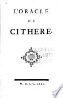 L'oracle de Cithère