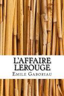 L affaire Lerouge