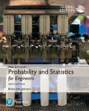 Miller   Freund s Probability and Statistics for Engineers  Global Edition