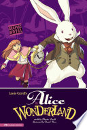 Alice In Wonderland : little girl falls down a rabbit...