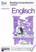 Englisch  Reading comprehension