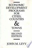 Economic Development Programs for Cities, Counties, and Towns