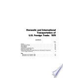 Census Bureau guide to transportation statistics