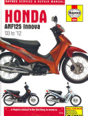 Reviews Honda ANF125 Innova Service and Repair Manual