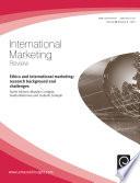 Ethics And International Marketing