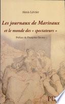 Les journaux de Marivaux et le monde des