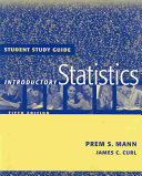 Student Study Guide to accompany Introductory Statistics  5th Edition  Student Study Guide