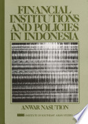 Financial Institutions and Policies in Indonesia