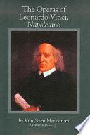 The Operas of Leonardo Vinci  Napoletano