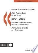 Aid Activities in Africa 2003
