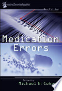 Medication Errors : r. cohen brings together some 30 experts from...
